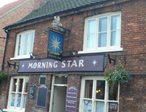 The Morning Star on Greetwell Gate